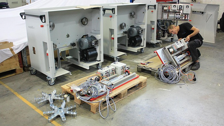 Aerne Engineering - Produktion