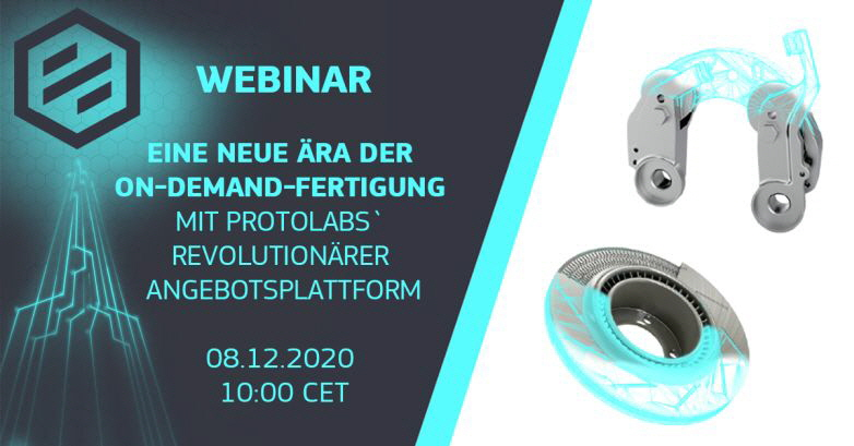 Proto Labs - Webinar On-Demand-Fertigung
